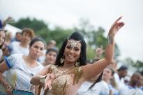 Ensaio técnico para o Carnaval 2018, no Sambódromo do Anhembi em São Paulo (SP), neste sábado (27). Os desfiles do grupo especial acontecem nos dias 09 e 10 de fevereiro.