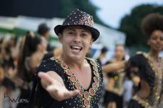 Ensaio técnico para o Carnaval 2018 da escola de samba Dragões da Real, no Sambódromo do Anhembi em São Paulo (SP), neste domingo (28). Os desfiles do grupo especial acontecem nos dias 09 e 10 de fevereiro.