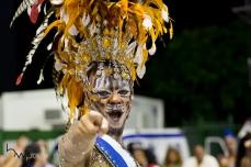 Ensaio técnico para o Carnaval 2018 da escola de samba Império de Casa Verde, no Sambódromo do Anhembi em São Paulo (SP), neste domingo (28). Os desfiles do grupo especial acontecem nos dias 09 e 10 de fevereiro.