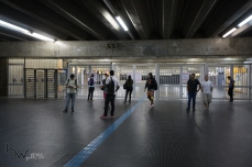 Movimentação na estação Brás da CPTM, em Sao Paulo (SP), que está com a transferência para a linha 3 vermelha do Metrô fechada, por conta da greve dos metroviários que teve início à 00:00h desta quinta feira (18). Pouco antes das 06:30h a Linha 3 vermelha começou a operar parcialmente. © BW PRESS COPYING OR REPRODUCTION PROHIBITED. AVISO: Imagens protegidas pela lei do direito autoral 9.610/98. É proibido o uso ou cópia sem permissão do autor. Sujeito às penalidades legais.