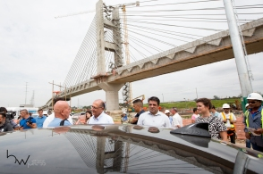 Geraldo Alckmin, Governador do Estado de São Paulo, vistoria as obras da linha 13 - Jade da CPTM, que ligará a capital ao Aeroporto de Internacional Guarulhos. A promessa do governador é entregar as estações CECAP e Aeroporto no mês de março, marcando o início da operação total da linha.