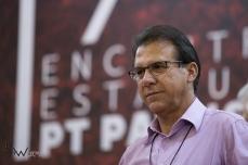 Luiz Marinho, é escolhido como pré candidato ao governo do estado de São Paulo pelo PT, durante as prévias do partido realizadas na quadra do Sindicato dos Bancários, na região central de São Paulo (SP), neste sábado (24). A candidatura será confirmada na convenção do partido, que acontecerá no mês de junho. © BW PRESS COPYING OR REPRODUCTION PROHIBITED. AVISO: Imagens protegidas pela lei do direito autoral 9.610/98. É proibido o uso ou cópia sem permissão do autor. Sujeito às penalidades legais