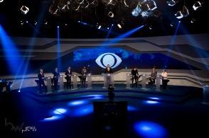 Debate entre candidatos ao governo do estado de São Paulo, das eleições 2018 promovido pela Band, na sede da emissora no bairro do Morumbi, zona sul de São Paulo, nesta quinta feira (16).