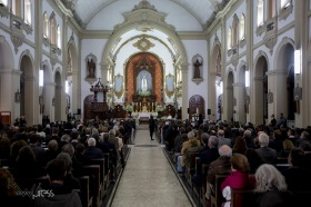 Cerimônia inter-religiosa na Paróquia N. Sra. do Rosário de Fátima, na zona oeste de São Paulo (SP), nesta segunda feira (27), em homenagem ao jornalista Otávio Frias Filho, que faleceu no último dia 21.