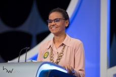 Marina Silva (REDE), durante o debate das eleições 2018, promovido pelo SBT, na sede da emissora em São Paulo (SP), nesta quarta feira (26).