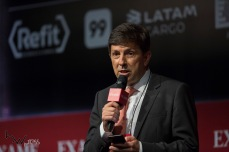 João Amoêdo, candidato a Presidente da República pelo NOVO participa do Exame Fórum 2018, no Hotel Unique, na zona sul de São Paulo (SP), nesta segunda feira (03).