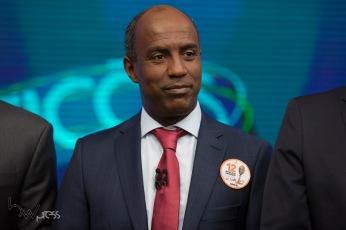 Marcelo Cândido (PDT), durante debate das eleições 2018 promovido pela TV Globo, na sede da emissora, na zona sul de São Paulo, nesta terça feira (02).