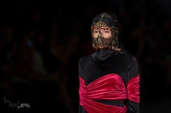 Desfile da grife Victor Hugo Mattos durante o quinto dia da edição N46, do São Paulo Fashion Week (SPFW), no espaço Arca, na zona oeste de São Paulo (SP), nesta quinta feira (25).