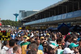 Movimentação no Autódromo Internacional José Carlos Pace - Interlagos, na zona sul de São Paulo (SP) neste domingo (09) antes da etapa final da temporada 2018 da Stock Car Brasil.