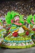 Integrantes da escola de samba Mancha Verde durante ensaio técnico para o Carnaval 2019, no Sambódromo do Anhembi em São Paulo (SP), neste sábado (19). © BW PRESS COPYING OR REPRODUCTION PROHIBITED. AVISO: Imagens protegidas pela lei do direito autoral 9.610/98. É proibido o uso ou cópia sem permissão do autor. Sujeito às penalidades legais.