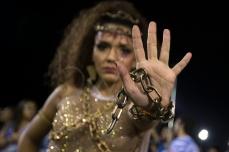 Integrantes da escola de samba Acadêmicos do Tatuapé durante ensaio técnico para o Carnaval 2019, no Sambódromo do Anhembi em São Paulo (SP), neste domingo (10). © BW PRESS COPYING OR REPRODUCTION PROHIBITED. AVISO: Imagens protegidas pela lei do direito autoral 9.610/98. É proibido o uso ou cópia sem permissão do autor. Sujeito às penalidades legais. #afp #anhembi #g1 #bandeira #bateria #yahoo #zuma #carnaval #cuica #efe #epa #harmonia #imprensa #istoe #jornalismo #dpa #mulata #nytimes #pandeiro #passista #rainha #reportagem #reuters #samba #sambodromo #time #uol #veja #wsj #ligasp