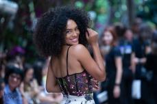 Raissa Santana, miss Brasil 2016, durante desfile da grife PatBo durante a edição N47, do São Paulo Fashion Week (SPFW), nesta quarta feira (24). © BW PRESS FOTO COPYING OR REPRODUCTION PROHIBITED.