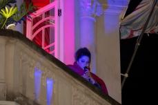 Apresentação de Fabiana Cozza, durante a Virada Cultural 2019, na Casa de Francisca, região central de São Paulo (SP), neste sábado (18).