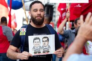 Protesto contra a reforma da previdência na Av. Paulista, nesta sexta feira (14). Paulo Lopes @ BW Press Foto COPYING OR REPRODUCTION PROHIBITED. Proibido o uso ou cópia sem permissão do autor. #moro #bolsonaro #protesto #previdencia #paulista #cut #csp #professores #lula #marketing #redessociais #instagram #facebook #twitter #dallagnol #afpphoto