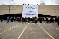 Servidores da justiça, magistrados e associações de policiais fazem ato público contra o projeto de lei 7596/17, chamado de Lei do Abuso de Autoridade, no Fórum Criminal da Barra Funda, nesta quinta feira (22). PAULO LOPES @BWPressFoto COPYING OR REPRODUCTION PROHIBITED. É proibido o uso ou cópia sem permissão do autor. #autoridade #juiz #desembargador #delegado #forum #lei #anamatra #ajufe #conamp #ajufe #anmp #apamagis #ajufe #ajufesp#amatra #unafisco #agenciaoglobo #agenciaestado #istoé #afp #afpphoto #veja #vejasp #estadão #folhapress #getty #zuma #shutterstock #dpa #europress #anpfoto #arfocsp