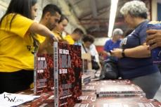 """Evento de lançamento da 2ª edição do livro """"A verdade vencerá"""", com a presença do ex presidente Lula, no sindicato dos bancários em São Paulo, nesta terça feira (10). PAULO LOPES @BWPressFoto COPYING OR REPRODUCTION PROHIBITED. É proibido o uso ou cópia sem permissão do autor. #agenciaoglobo #agenciaestado #istoé #afp #afpphoto #veja #vejasp #estadão #folhapress #getty #zuma #shutterstock #dpa #bwpress #europapress #anpfoto #arfocsp #lula #pt #lavajato #curitiba #moro #dallagnol #livro #lulinha #atibaia #processo"""