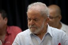O ex Presidente Luiz Inácio Lula da Silva participa de ato contra o nazismo, no Sindicato dos Químicos, na região central de São Paulo (SP), nesta quinta feira (30). No evento, Lula recebe carta de apoio e solidariedade da comunidade Judaica Paulo Lopes © BW PRESS COPYING OR REPRODUCTION PROHIBITED. #agenciaoglobo #agenciaestado #istoé #afp #afpphoto #veja #vejasp #estadão #folhapress #getty #zuma #shutterstock #dpa #bwpress #europapress #anpfoto #arfocsp #lula #holocausto #nazismo #auschwitz #alemanha #extermínio #genocidio #hitler #suastica